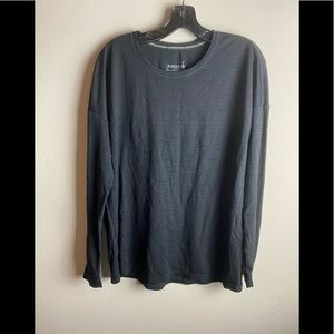 Smartwool Womens top size large black long sleeve